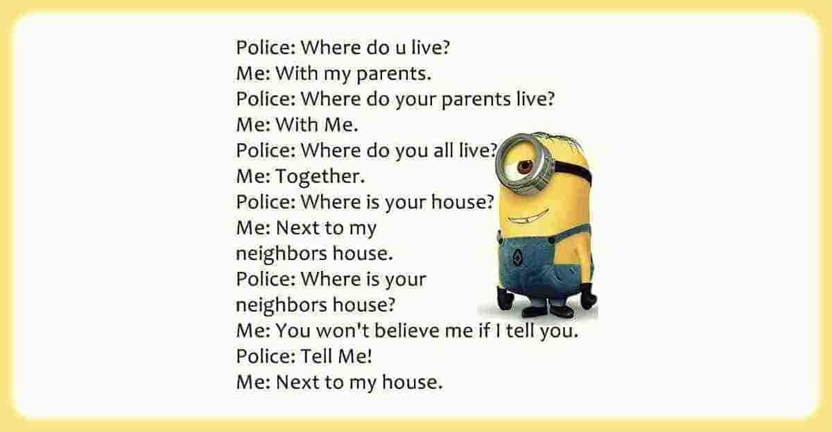 Police Questioning me