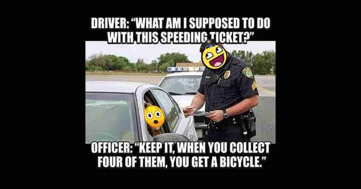 What to do with speeding ticket?