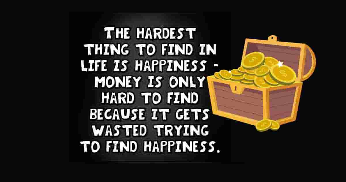 Find happiness in life