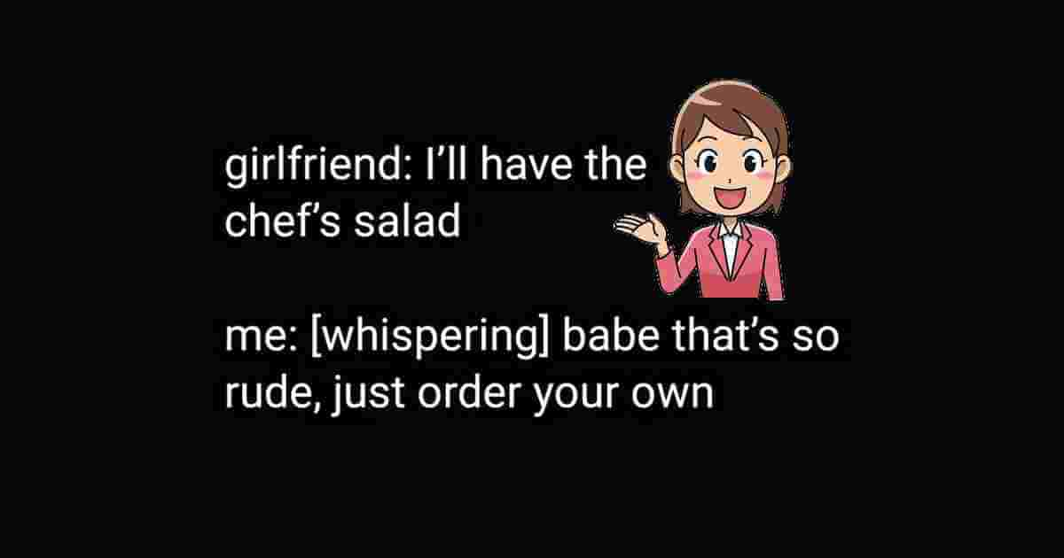 Ordering a Chef's salad
