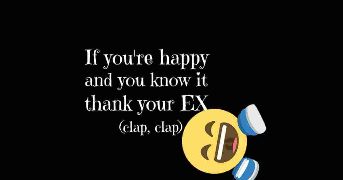 Thank your EX