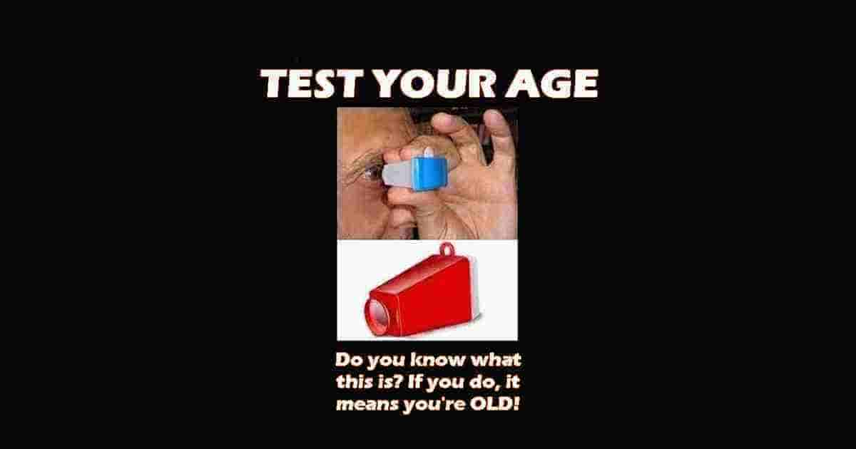 Test you Age