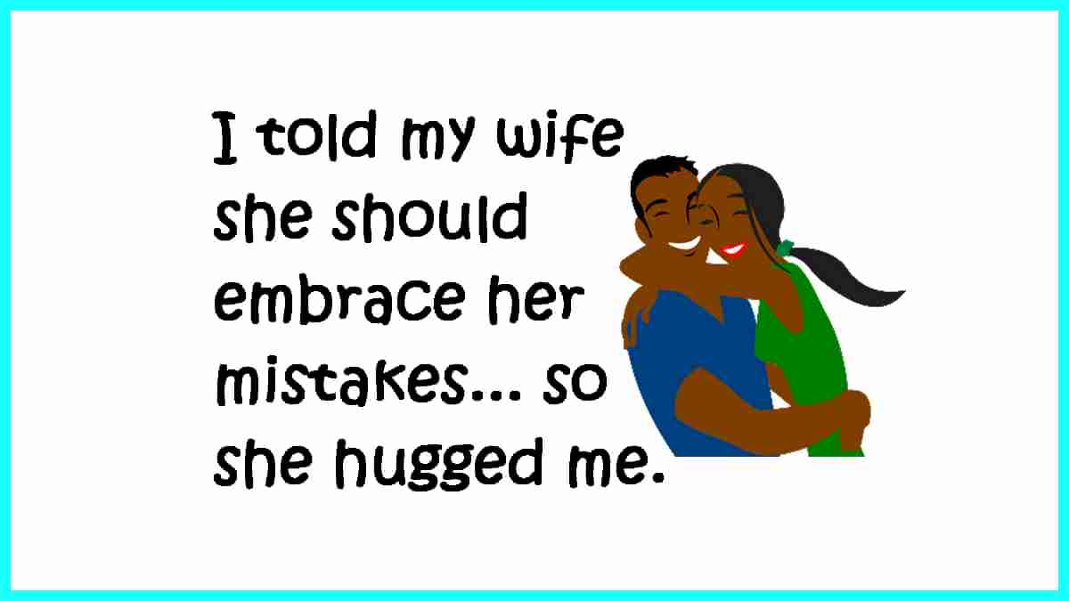 embrace funny quote