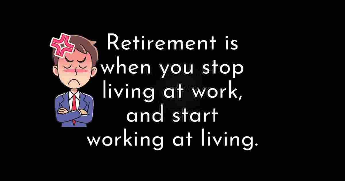 working to live