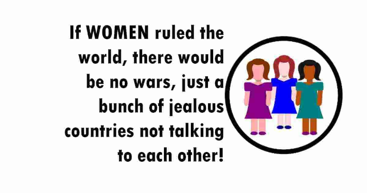 World ruled only by women