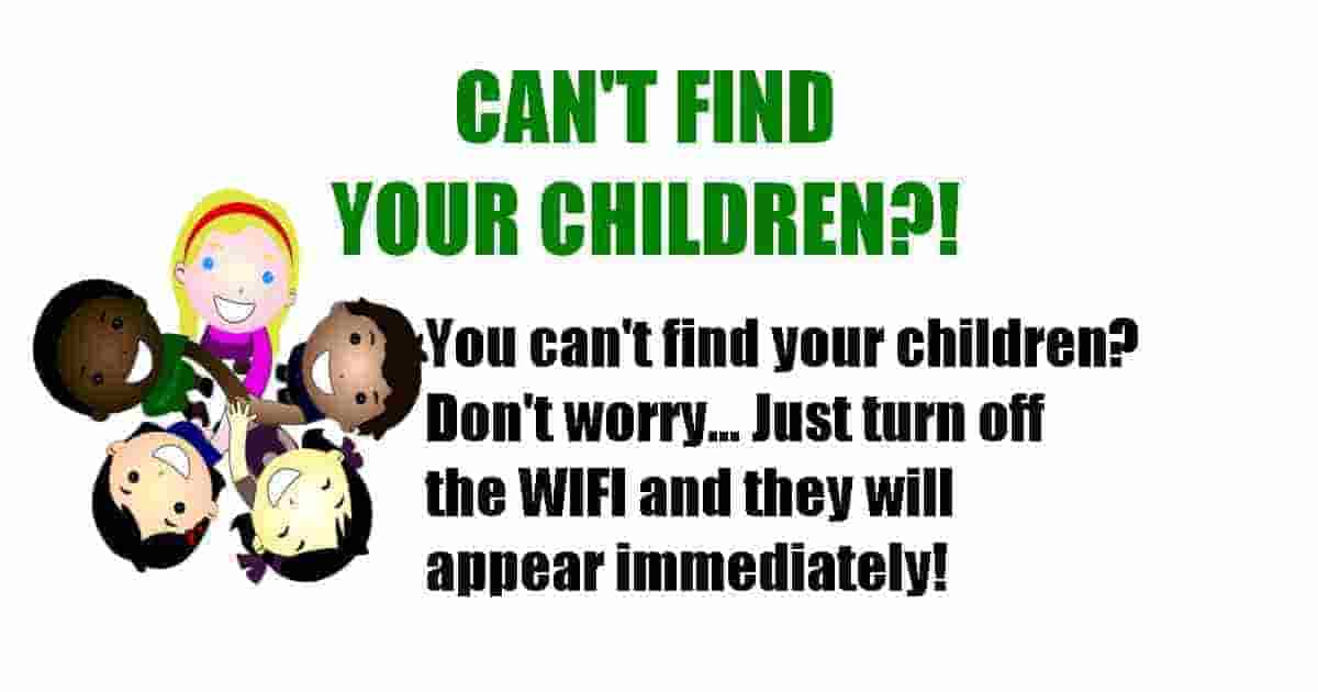 Easy way to find your children