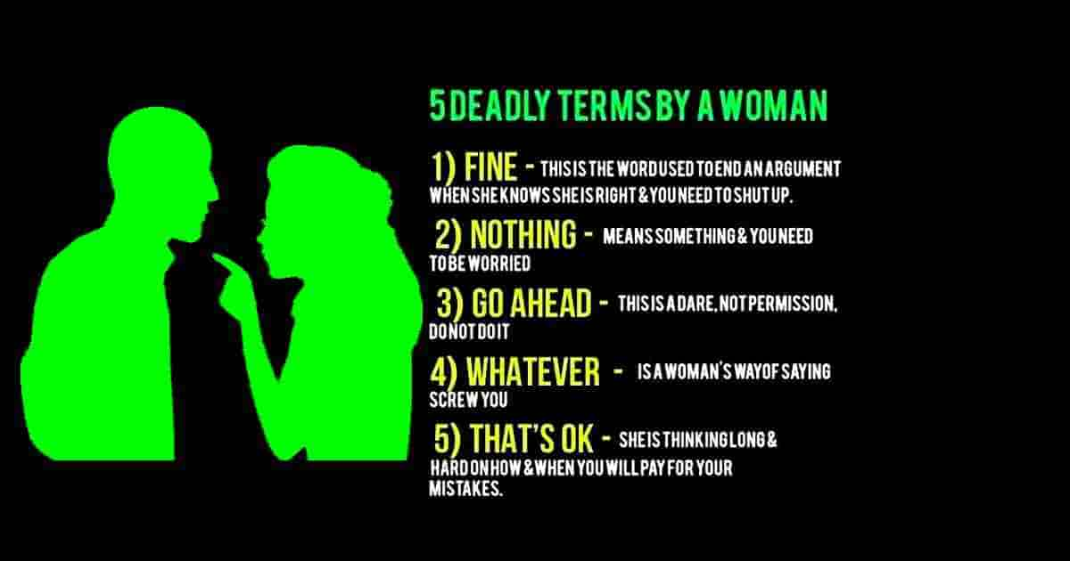 Five woman's deadly terms