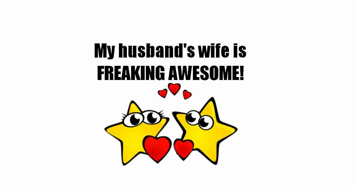 Wife is awesome