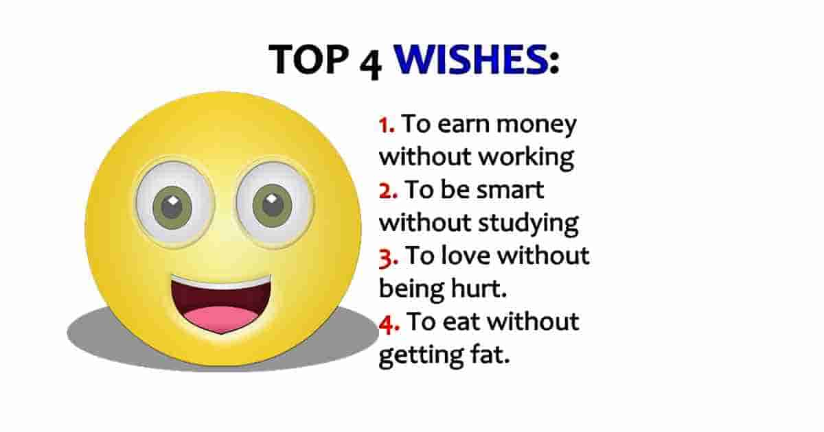 Top best 4 wishes