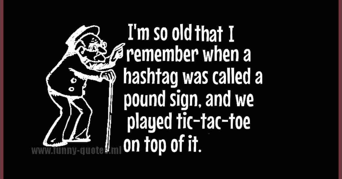 I remember humor quote